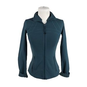 Lululemon Athletica Define Jacket 4 Full Zip Teal
